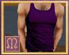 M+ Purple Muscle Top