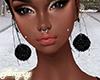 Fur Earrings Glitter