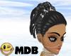 ~MDB~ BLACK WINKY HAIR