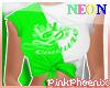 Neon G/W Logo Elena Tee