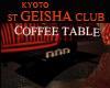ST KYOTO GEISHA Table