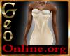 Geo Rachael Gown Cream