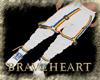 (DBH) white pride pants