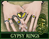 Gypsy Rings Yellow