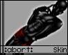 :a: Black PVC Skin M