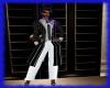 Blk/White Pants Suit
