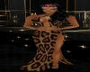 Leopard Halter Dress