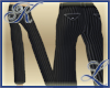 Straight Pinstriped Pant