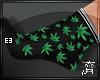 !E! Weed Black (SOCKS)