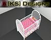 [KS] Pooh Crib Pink
