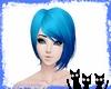 Paris Short Blue Hair