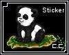 Chubby Baby Panda Cub