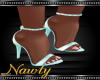 Vivian Azure Shoes