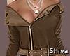 S. Lady Brown Top
