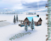 2020 Snowy Winter cabin