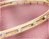J! Gold diamond bangle