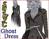 Ghost Coat Dress