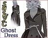 Ghost Coat Dress