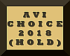 AVI Choice Award(Hold).