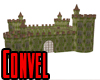 Mossy Rusted Castle