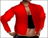 Red JACKET Black Top