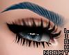 !N Blue Eyebrows Yane