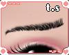 *ts* Shy Eyebrow [Blk]