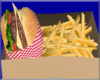 OSP CheeseBurger W/Fries