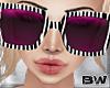 Lilac Zebra Sunglasses Q