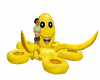 flotador pulpo amatillo