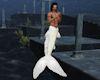 'Merman Tail White