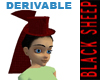 Derivable Burlesque Hat