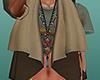 boho scarf waistcoat ^^