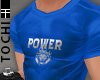#T Power Jersey #Blue