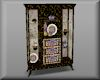 isis black gold cabinet