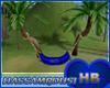 [HB]HAMMOCK TROPICAL BLU
