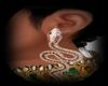 Snake Gold Earrings