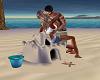 Sand Castle Kiss