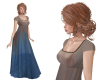 TF* BOHO Ombre Dress