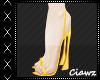 ☪ Thalia Mustard Heels