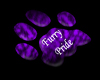 Furry Pride Paw - Purple