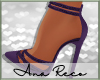 A∞Marinna Purple Pumps