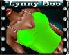 Flouro N Chains Lime Top