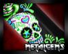 CEM Green Skulls Nails