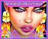 Earrings Amber n Citrine