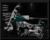 ~Teal Flame Bike~