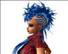 NAR BLUE MOWHAWK HAIR