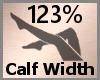 Calf Scale 123% F A