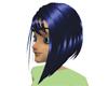 !(ALM)BLUE !VICKY! HAIR