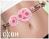Cute Pink Daisy Belt
